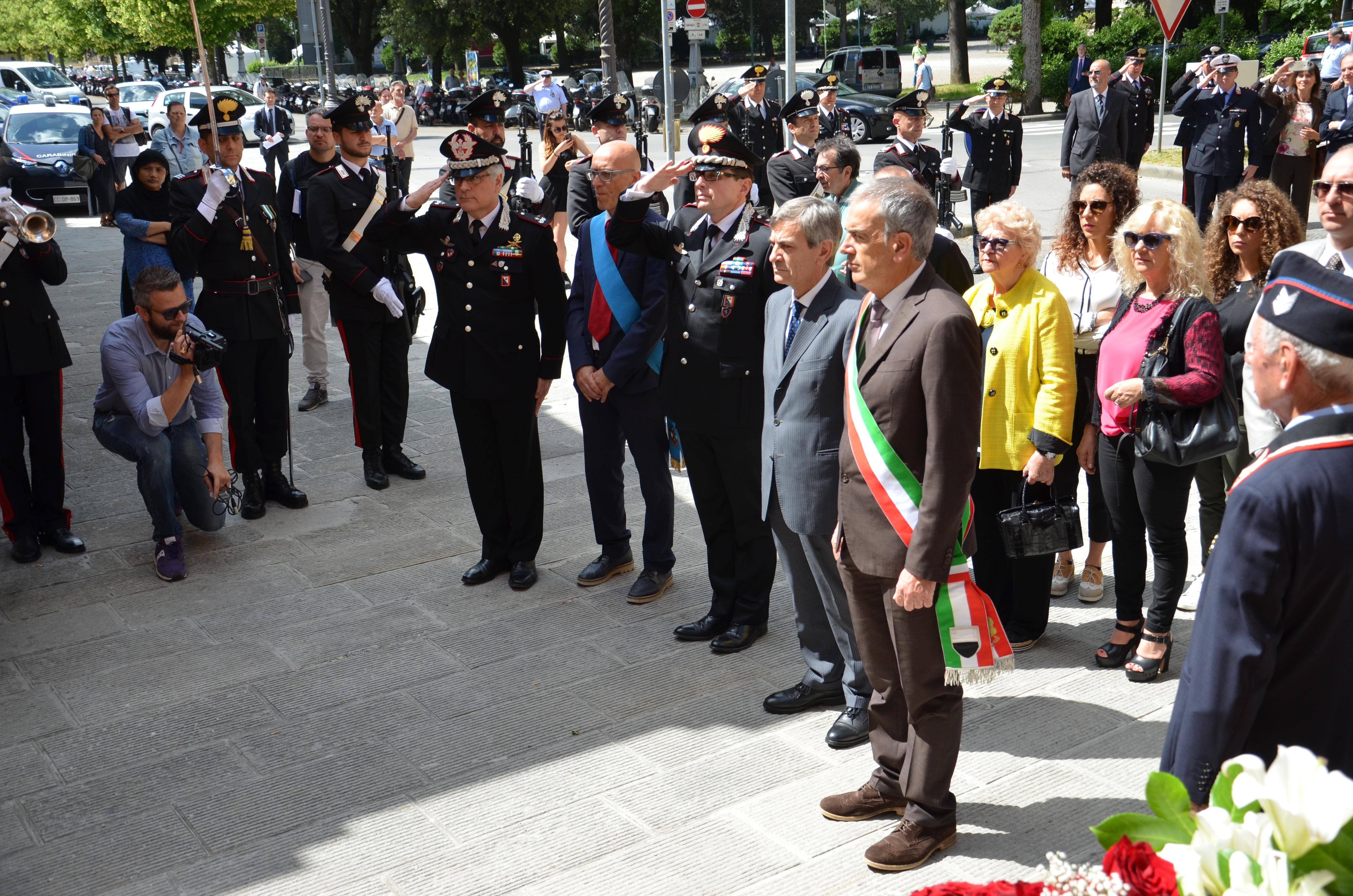 Ventotto anni fa la follia di Cosimini: uccise alla Lizza due carabinieri