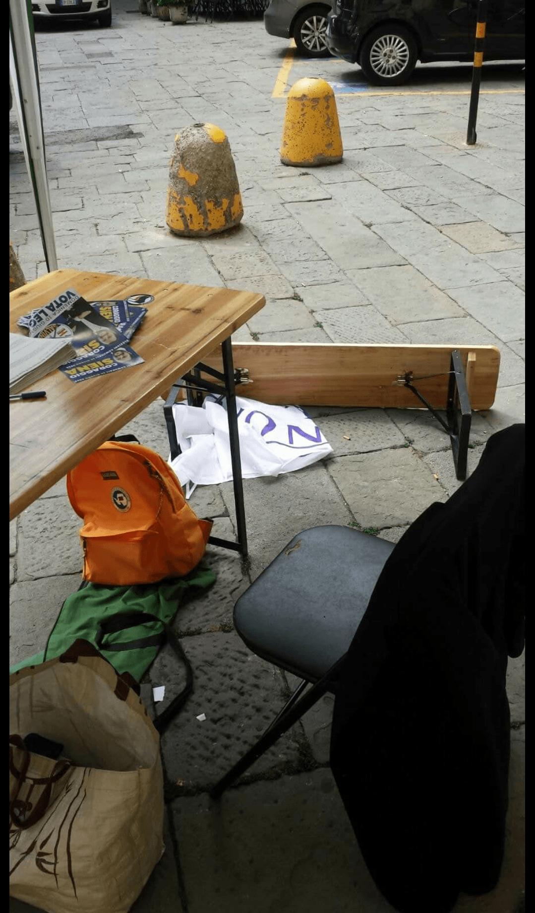 Aggredito militante Lega al banchetto di Piazza Indipendenza