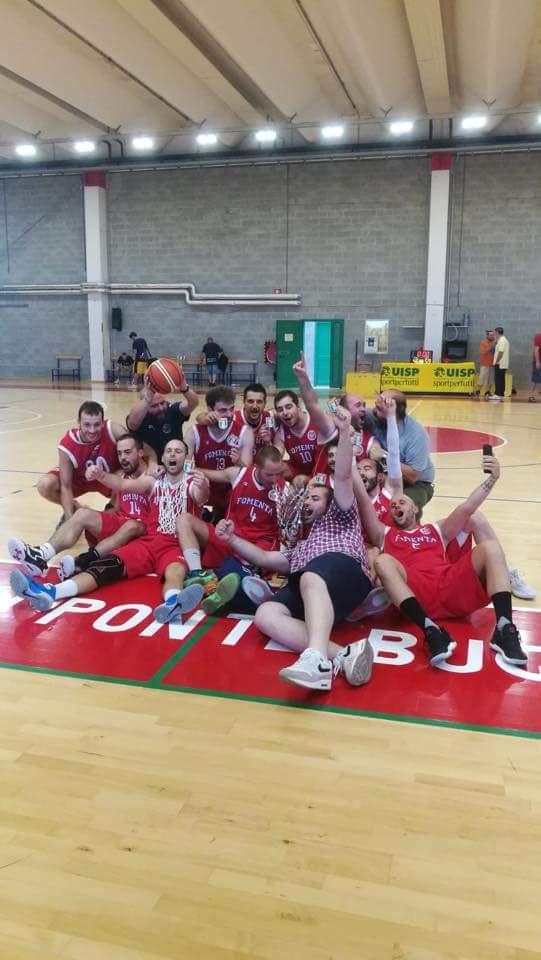 Trionfo Fomenta Basket: è campione d'Italia Uisp