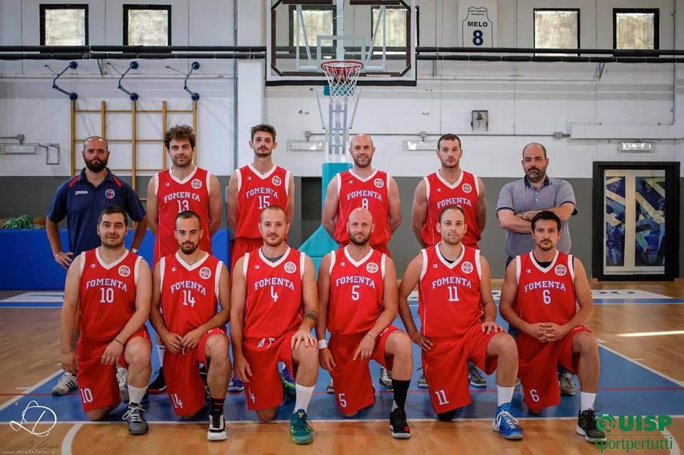 Storico Fomenta Basket: in finale scudetto Uisp