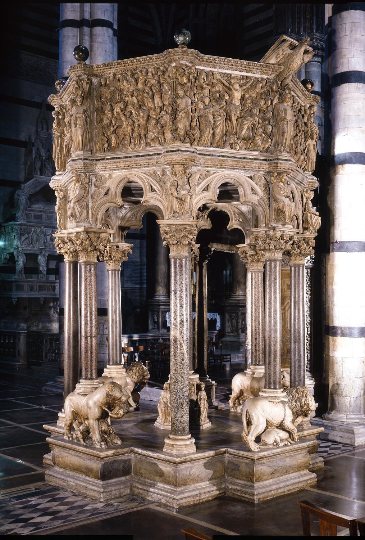 Restauro del Pulpito del Duomo, le prime immagini