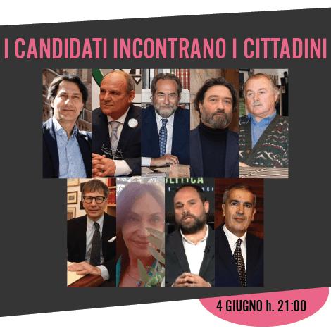 Stasera ore 21 alla Saletta dei Mutilati i 9 candidati a sindaco incontrano i cittadini