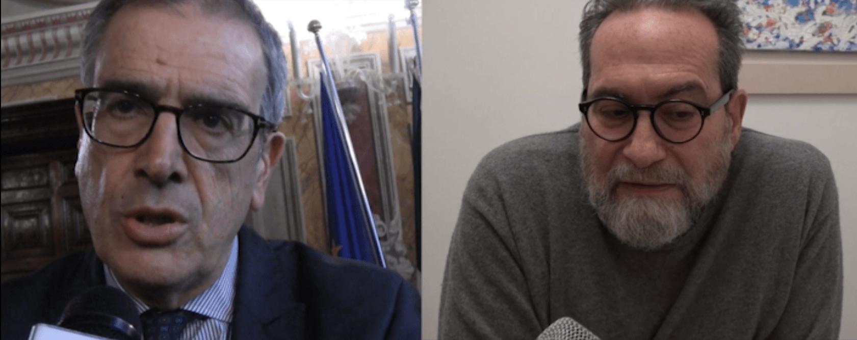 Valentini e Piccini commentano l'incontro avuto in vista dell'apparentamento