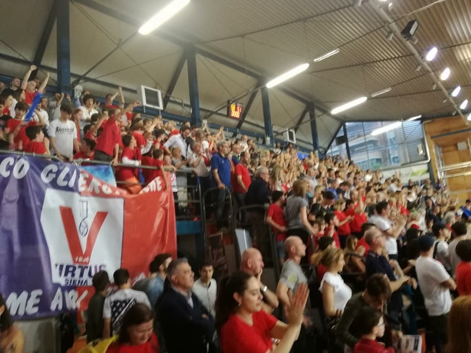 Gara 5 Virtus-Livorno, 80 i posti riservati agli ospiti