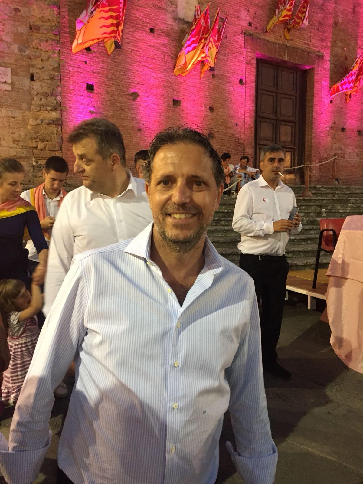 Prova generale, il ds della Juve Fabio Paratici a cena nel Valdimontone