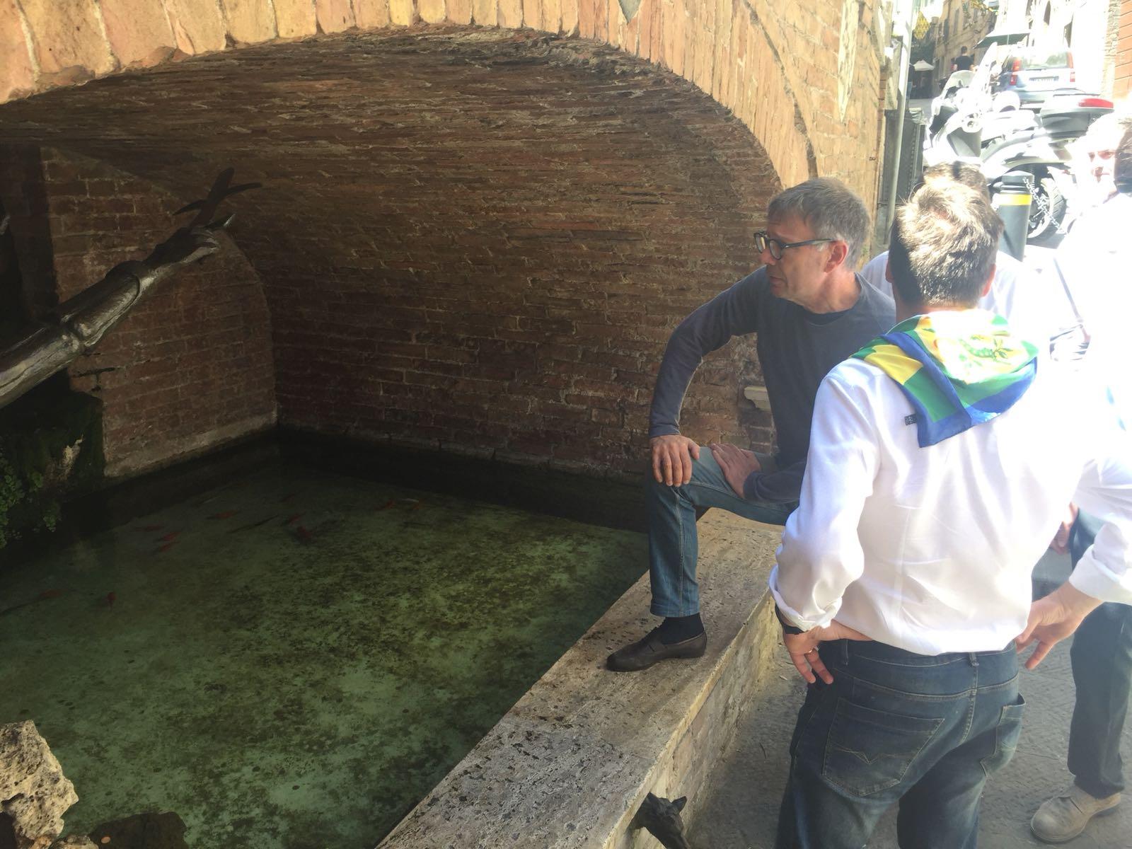 Atto vandalico alla fontanina del Bruco, anche il Comune ha sporto denuncia