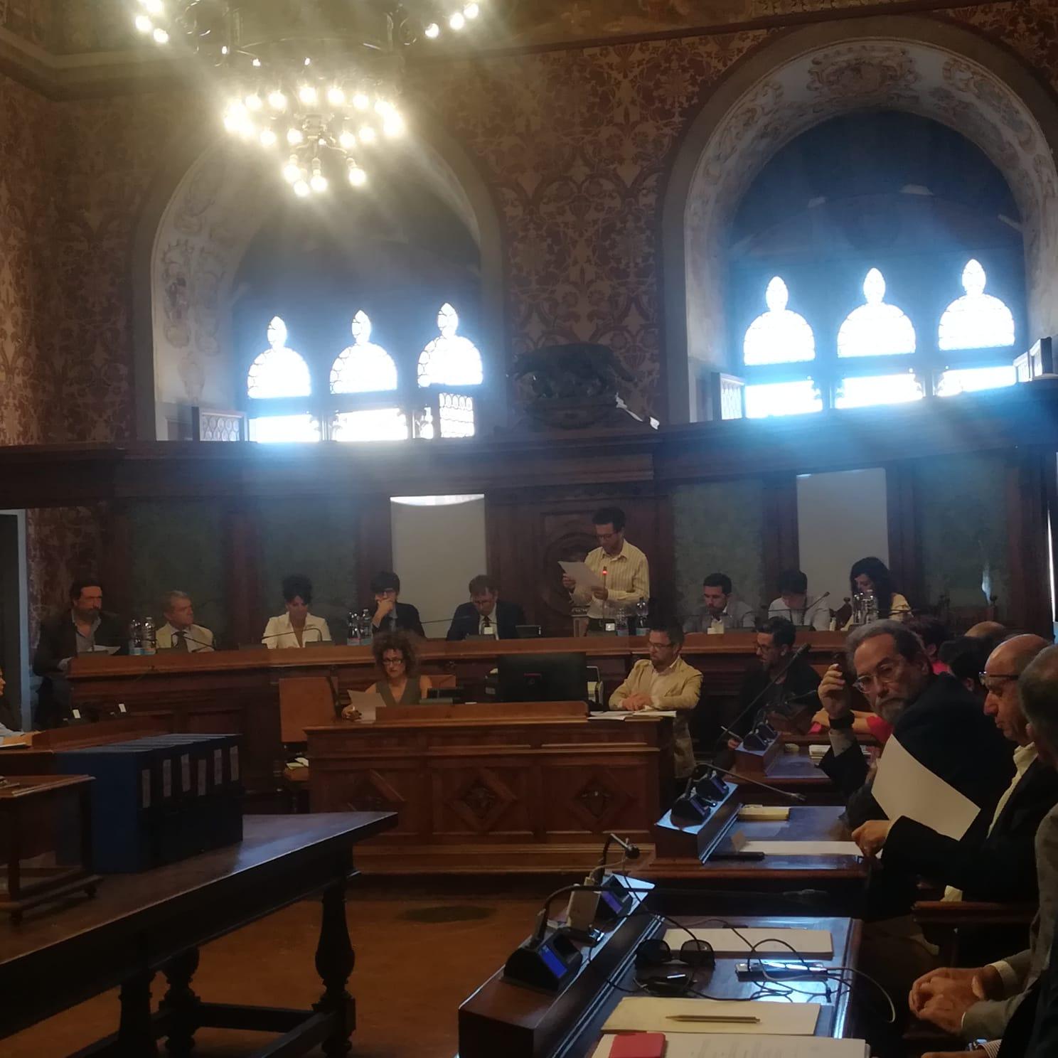 Il primo Consiglio comunale dell'era De Mossi – FOTO
