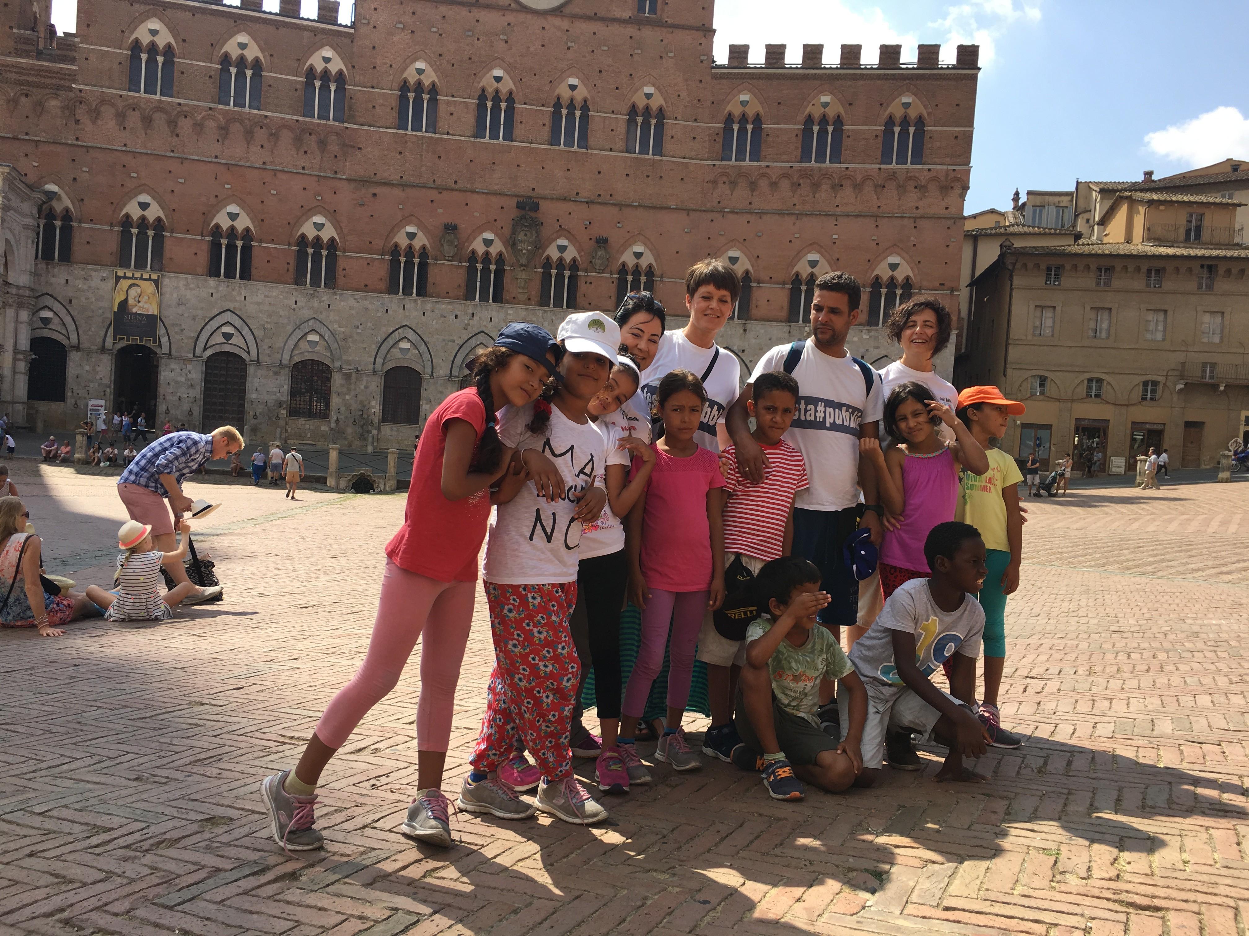 La Pubblica Assistenza di Siena ospita i bambini saharawi