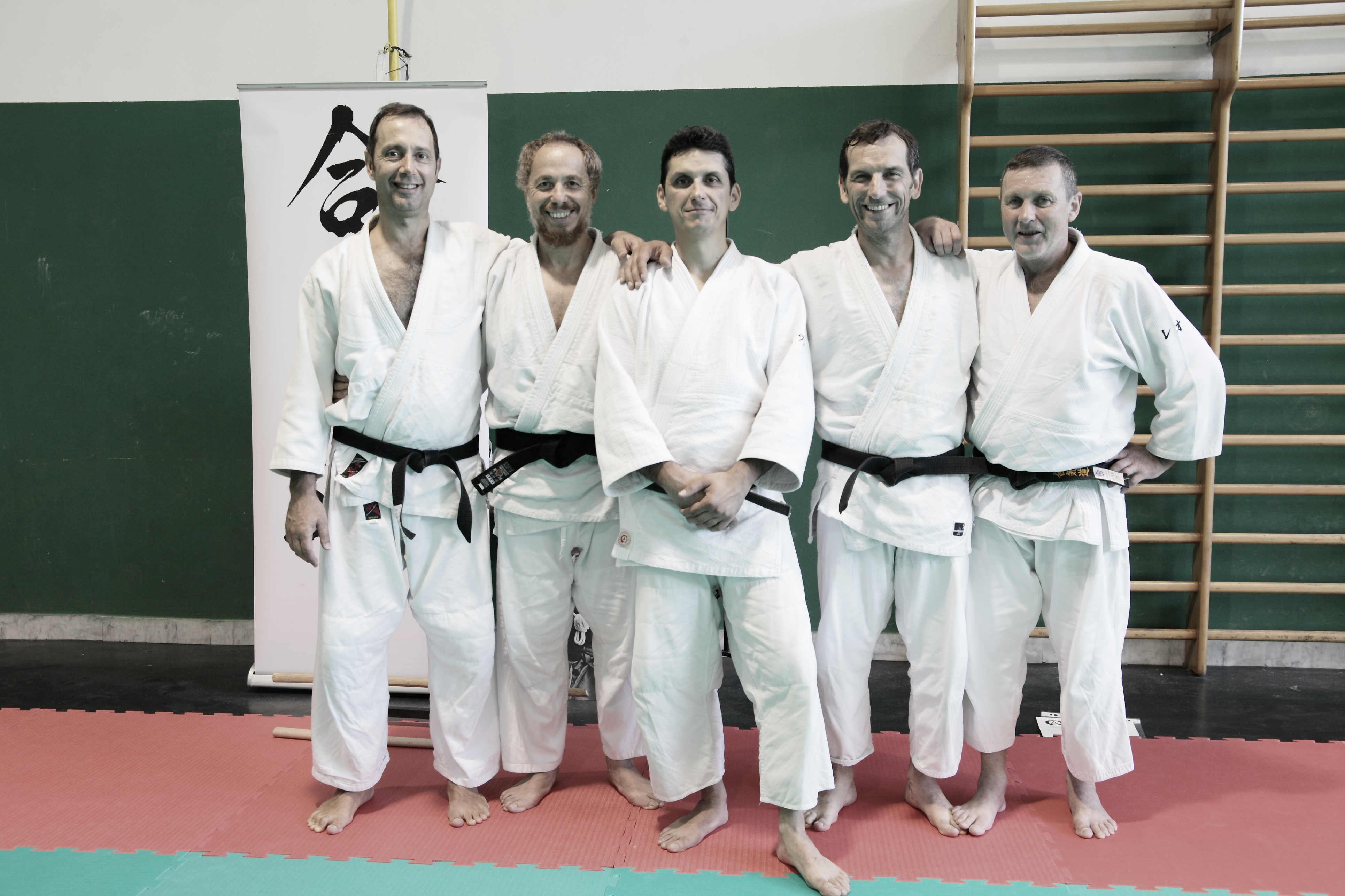 Aikido, i ragazzi di Maestro Bianciardi superano brillantemente lo stage per il passaggio di cintura