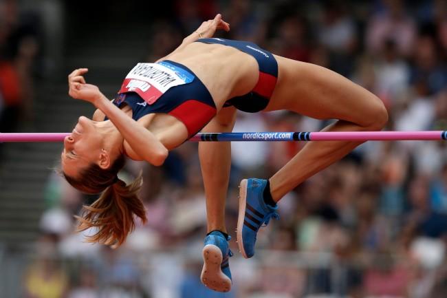 Salto in alto, l'atleta che si allena a Siena Elena Vallortigara vola a Londra