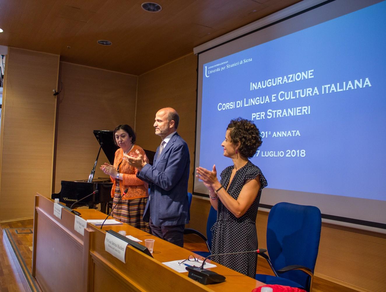 Inaugurata la 101° annata dei Corsi di Lingua e Cultura Italiana dell'Università per Stranieri