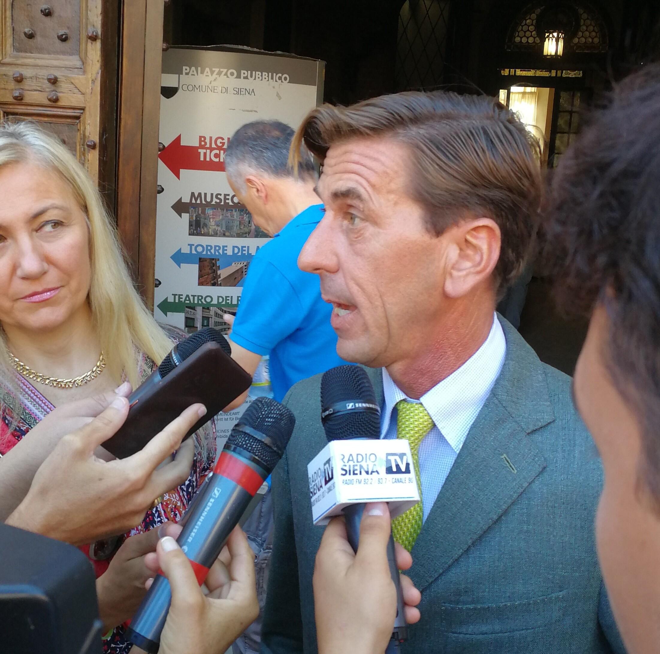 """Fabio Magni: """"Dopo le sanzioni, mi aspetto più collaborazione dai fantini"""""""