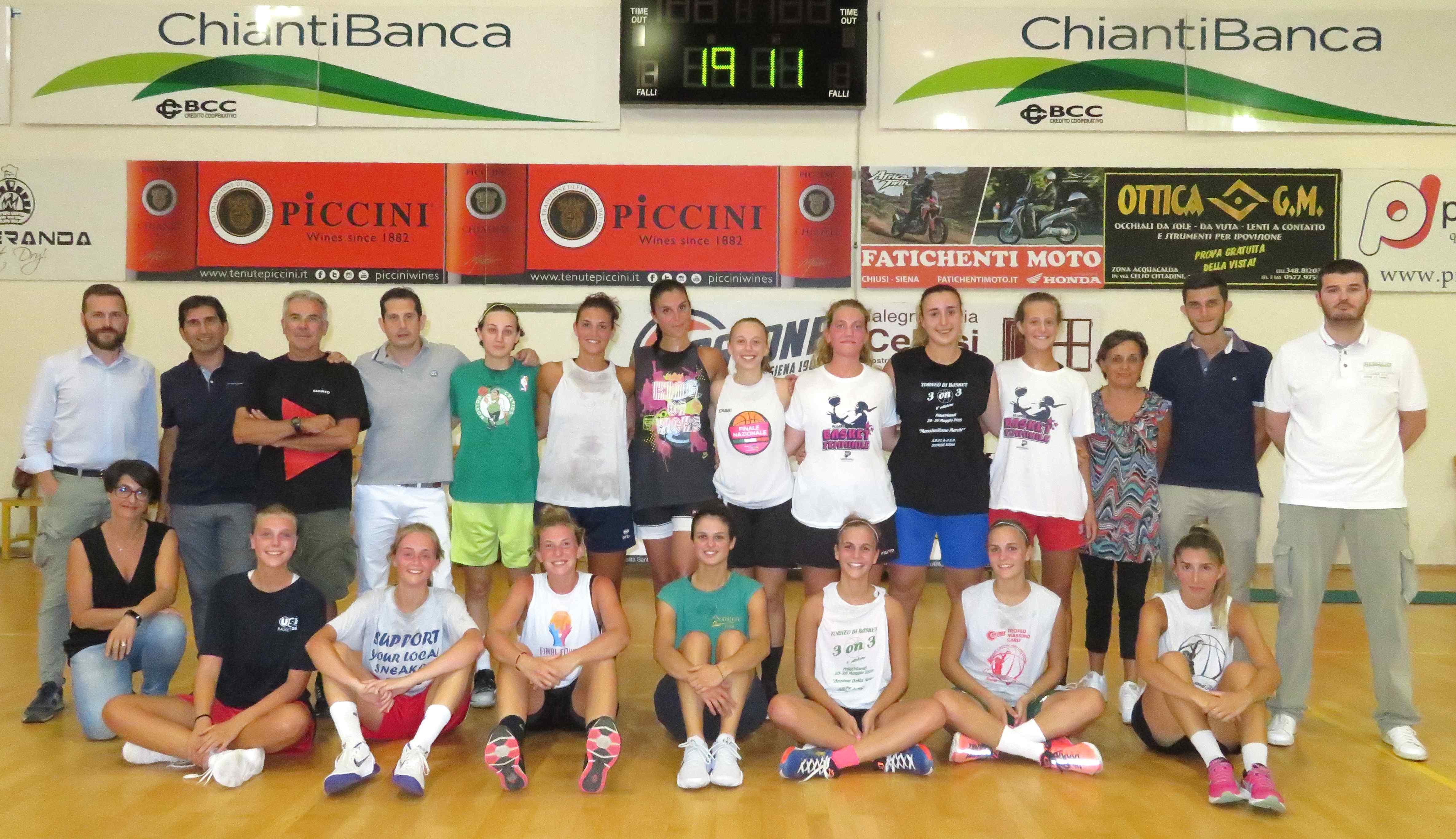 Costone Basket, le ragazze iniziano la preparazione atletica agli ordini di Maggiorelli
