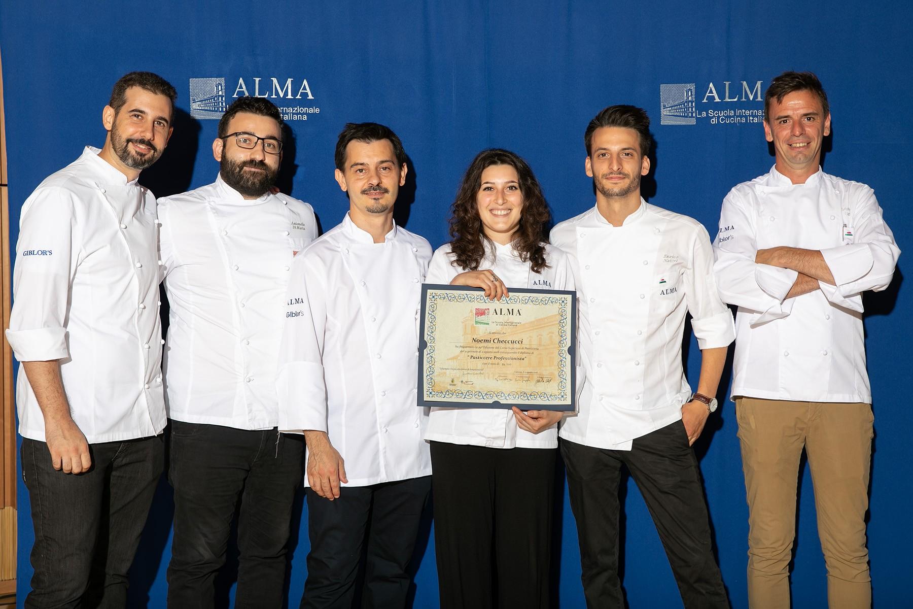 Una senese si diploma pasticcera alla scuola internazionale di cucina di Gualtiero Marchesi