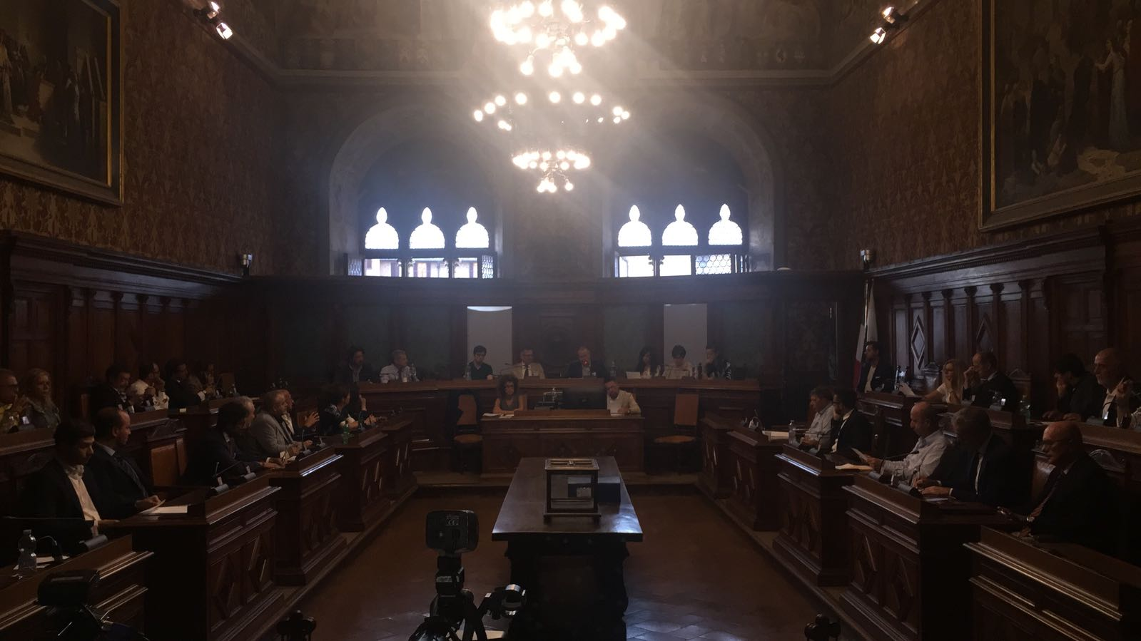 Palio straordinario, al via la seduta del consiglio comunale