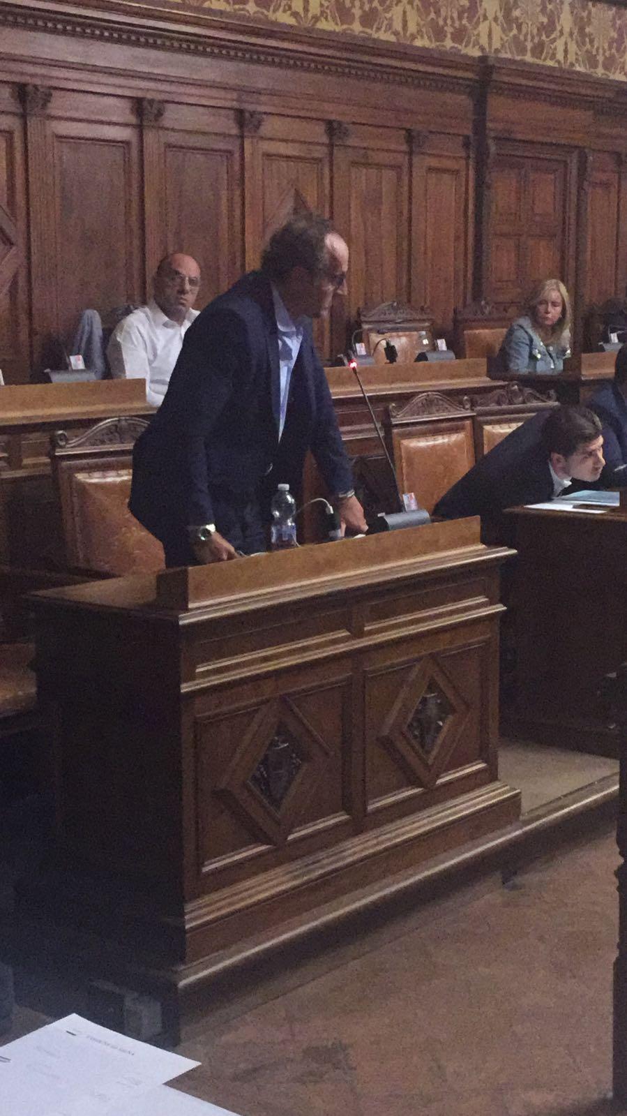 """Maurizio Forzoni: """"Voto favorevolmente rispettando il volere dei cittadini senesi"""""""