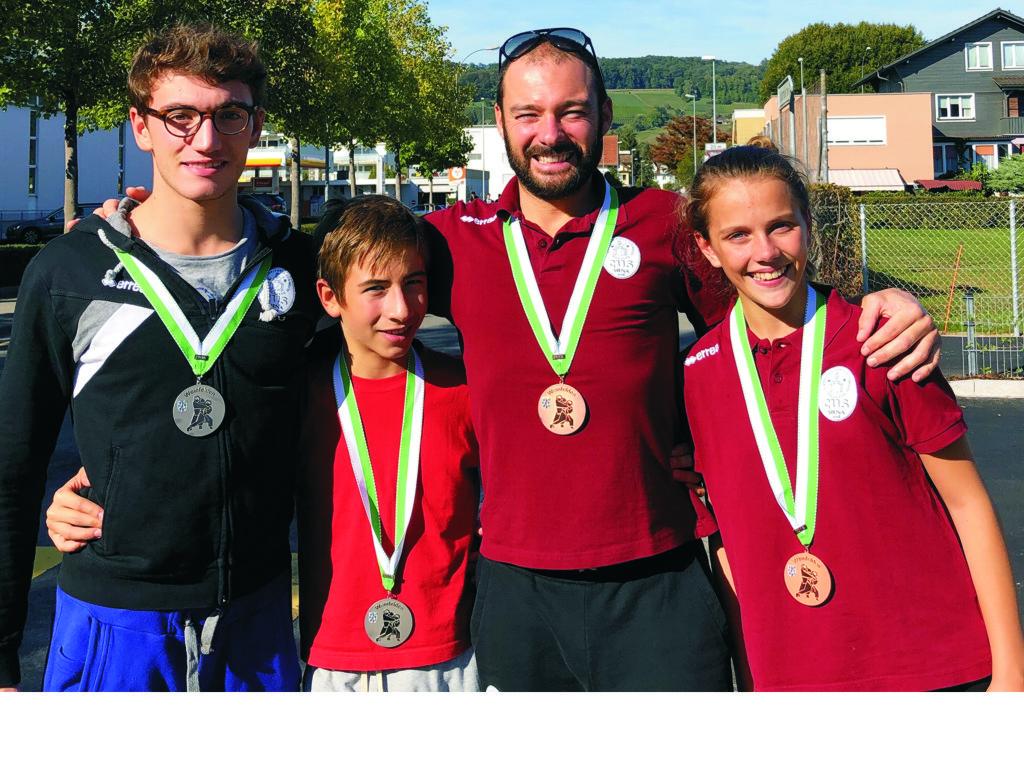 Il Cus Siena Judo porta tutti sul podio nel torneo svizzero di Weinfelden