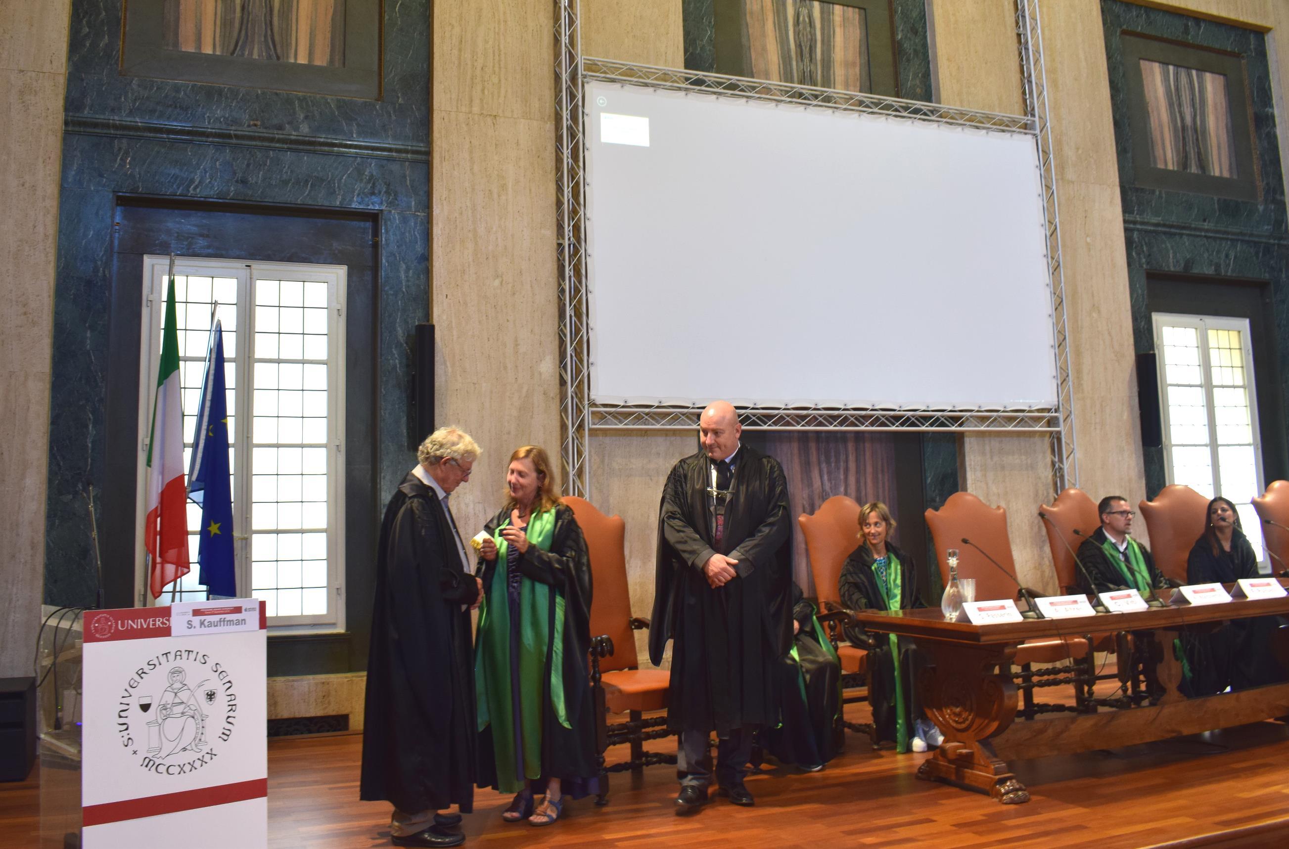 Consegnata la medaglia Prigogine allo scienziato americano Stuart Kauffman