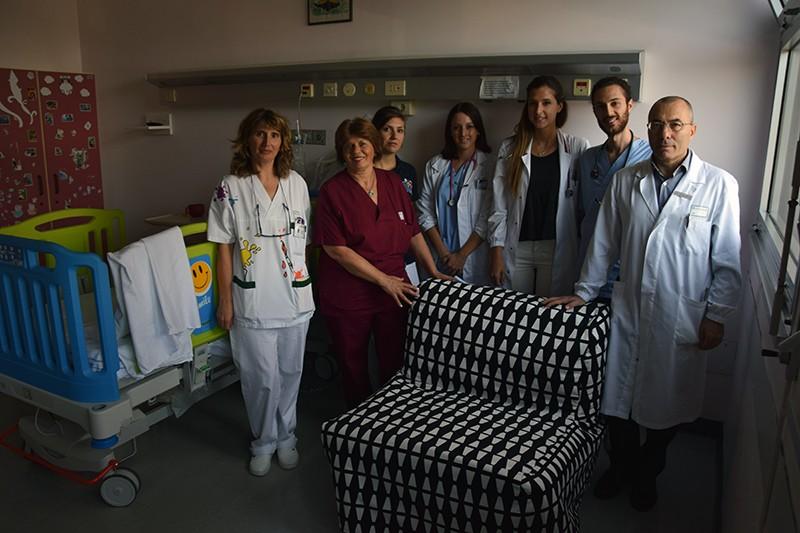 Grazie al cuore dei senesi venti poltrone letto per i genitori dei bimbi ricoverati in Pediatria