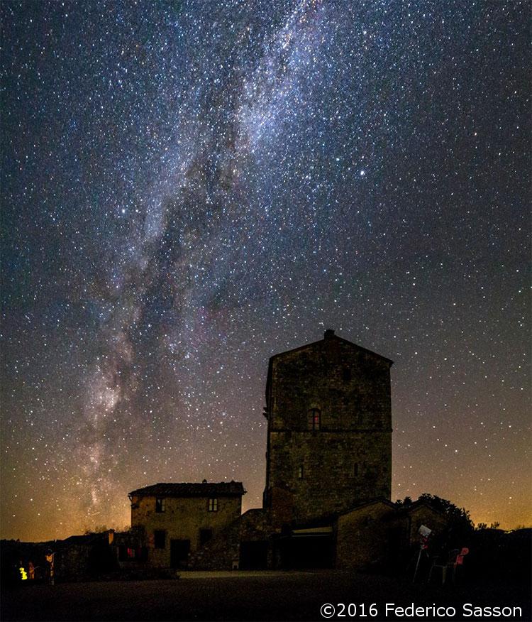 Un fine Settembre sotto le stelle con l'Unione Astrofili Senesi