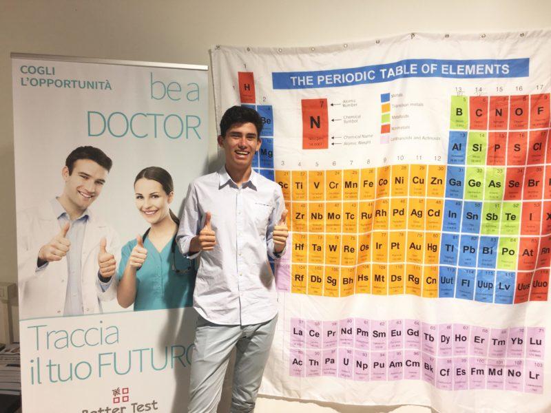 Test medicina: ottima prova per uno studente senese