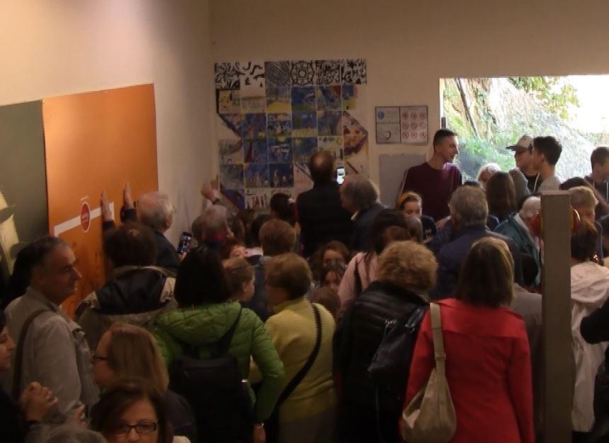 Risalita Santa Caterina, presentata l'opera d'arte degli studenti per la festa dei nonni
