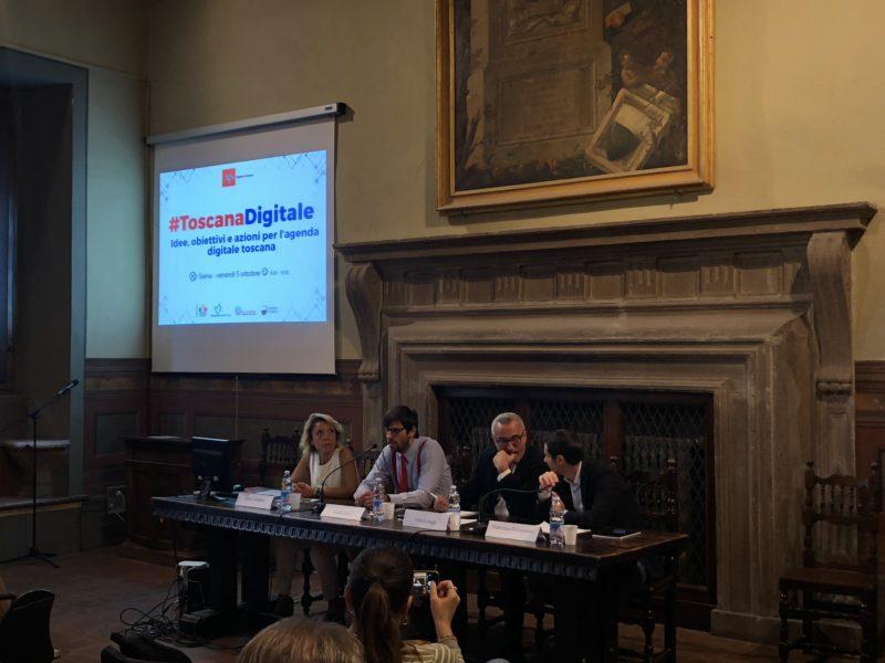 "A Siena #ToscanaDigitale, Bugli: ""Al via 14 nuovi cantieri per banda ultralarga nell'area senese"""