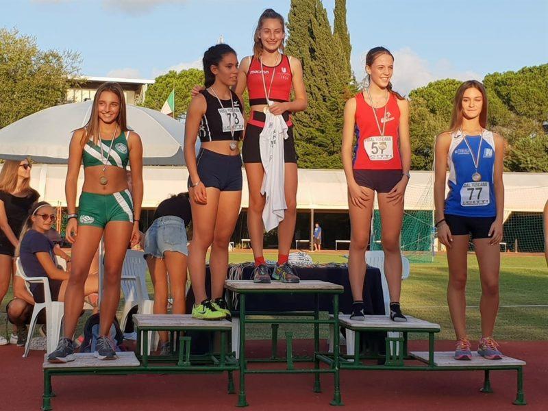 Uisp Atletica Siena, Giada Bernardi campionessa toscana dei 300 metri