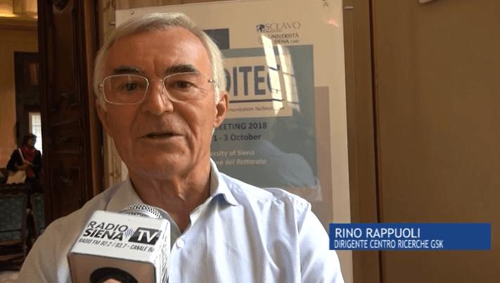 """Rino Rappuoli a Siena Tv: """"Gsk e Università, l'ecosistema senese cresce"""""""