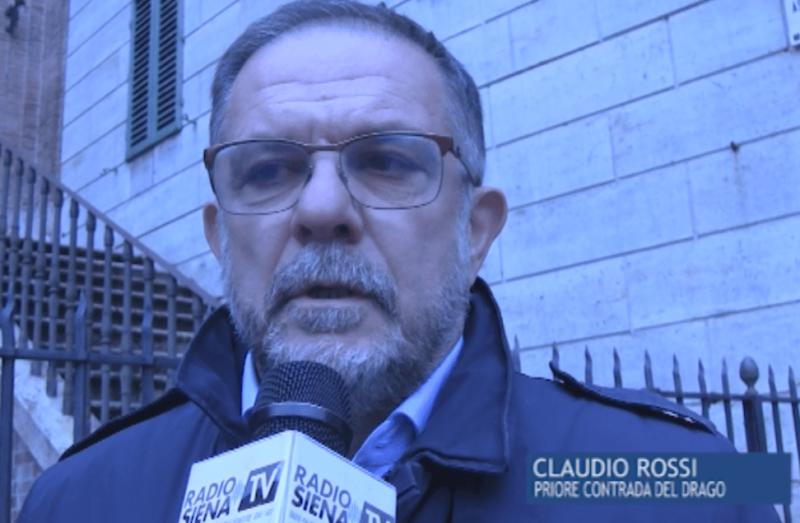 """Il Priore Claudio Rossi: """"Enrico Giannelli è stato il Drago"""""""