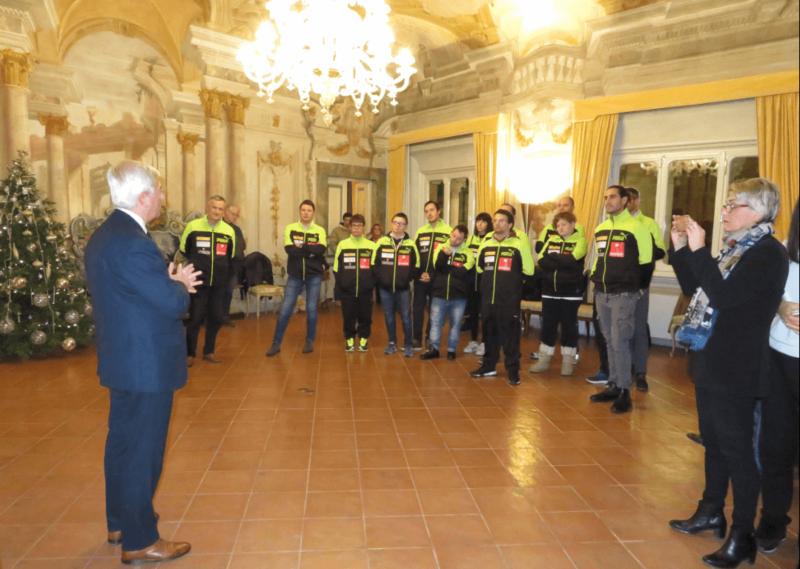 I campioni d'Europa del Costone Baskin premiati dalla Fondazione Mps
