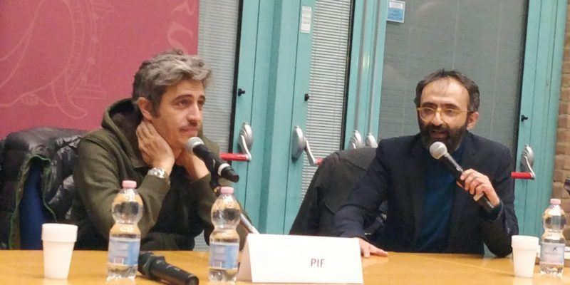 Pienone all'Università per la presentazione del romanzo di Pif – FOTO E VIDEO