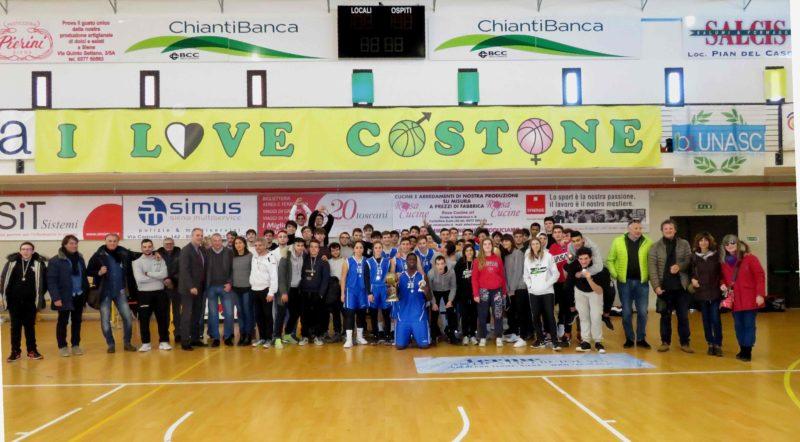 Torneo di basket Bruno Casini: vince il Sarrocchi