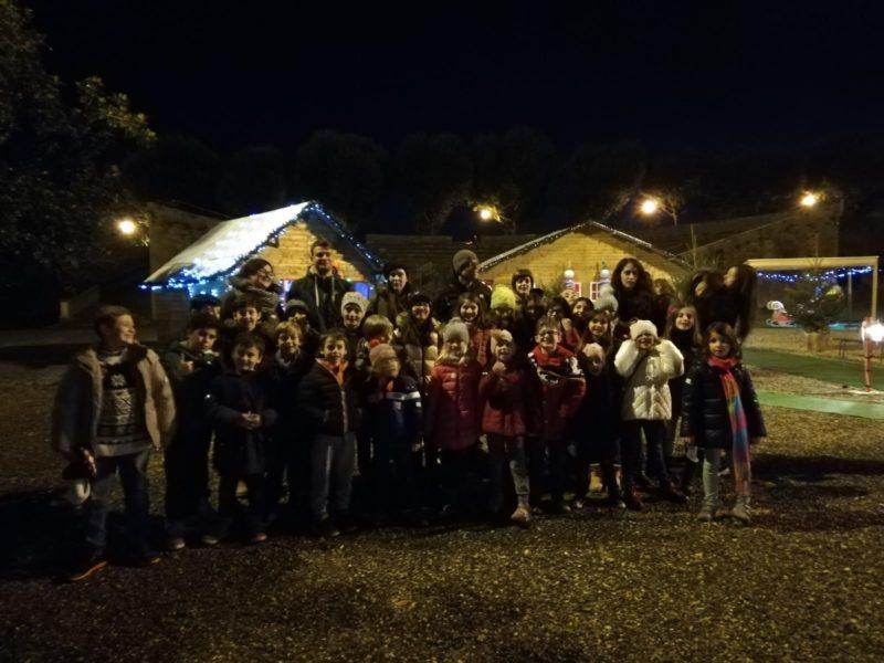 I bambini delle Contrade visitano il Regno di Babbo Natale