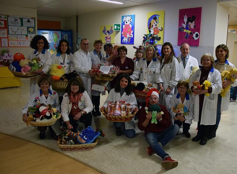 Avo, Natale con il tradizionale rinfresco offerto ai piccoli pazienti di Pediatria