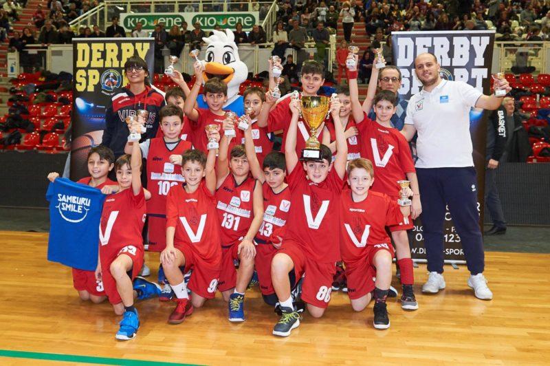 Storica Virtus Siena: vince il torneo della Befana di Minibasket