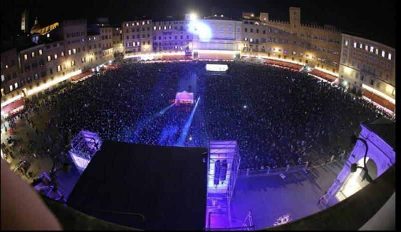 Siena dà il benvenuto al 2019: musica e ballo in Piazza del Campo con Alex Britti e i Deschema