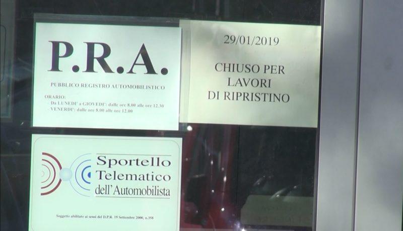Furto al P.R.A di Siena, uffici ancora chiusi