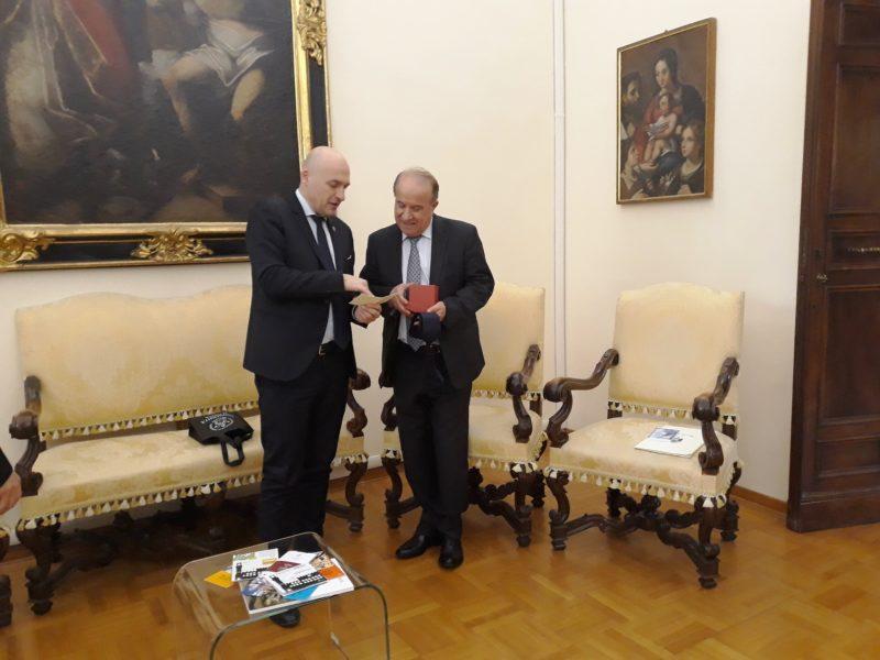 L'ambasciatore iracheno all'Università di Siena