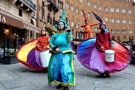Carnevale a Siena, spazio anche allo street food
