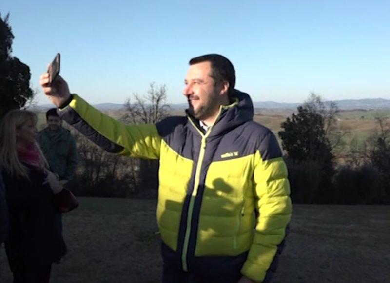 """Scorie nucleari nel senese, Salvini: """"Il Governo è incapace e fa male alla Toscana"""""""