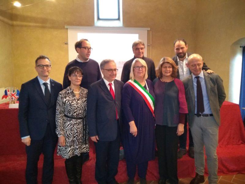 Via Francigena: a Monteriggioni il premio Sigerico ad Antonio Tajani, Enrico Rossi e Giovanni D'Agliano