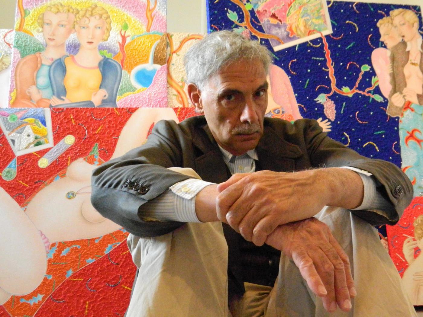 La contrada di Valdimontone piange il pittore Luca Alinari: realizzò il Cencio vittorioso del 16 agosto 1990