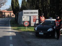 carabinieri buonconvento