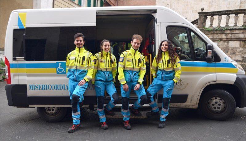 Misericordia di Siena: ecco le divise con i nuovi colori – FOTO