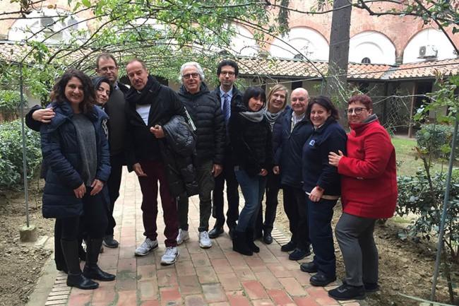 Massimo Lopez e Tullio Solenghi in visita ai detenuti di Santo Spirito