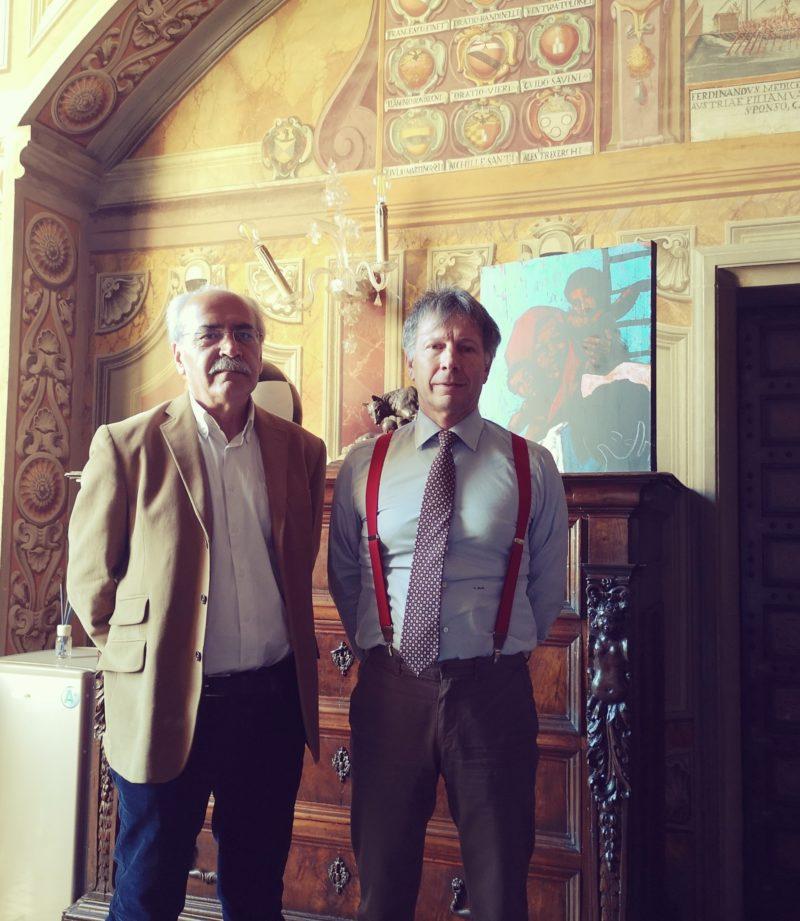 Sarà Massimo Stecchi l'artista del Drappellone del 2 luglio