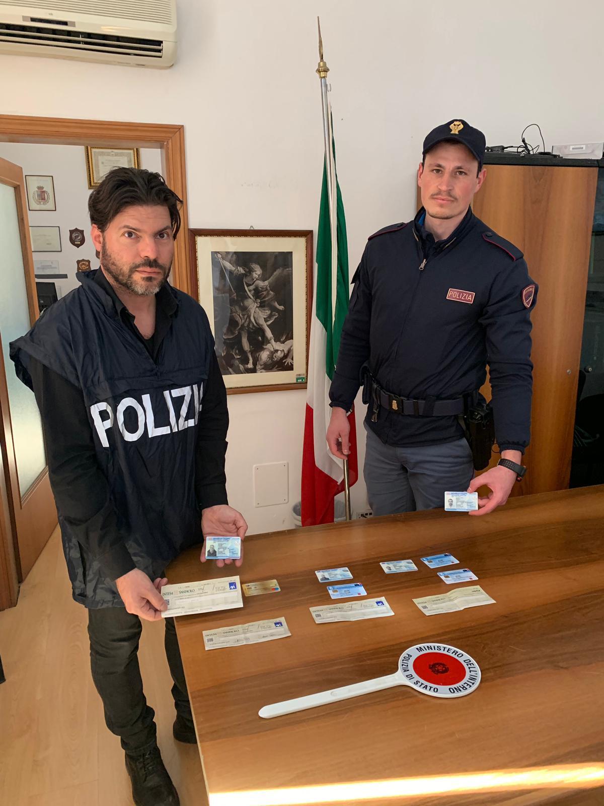 Truffe con documenti falsi, la Polizia sgomina banda di malviventi casertani