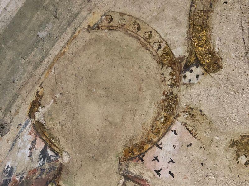 Scoperto affresco all'interno della Cattedrale di Siena
