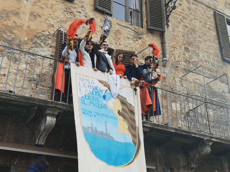 In Piazza del Campo la carciofata delle Feriae Matricularum 2019